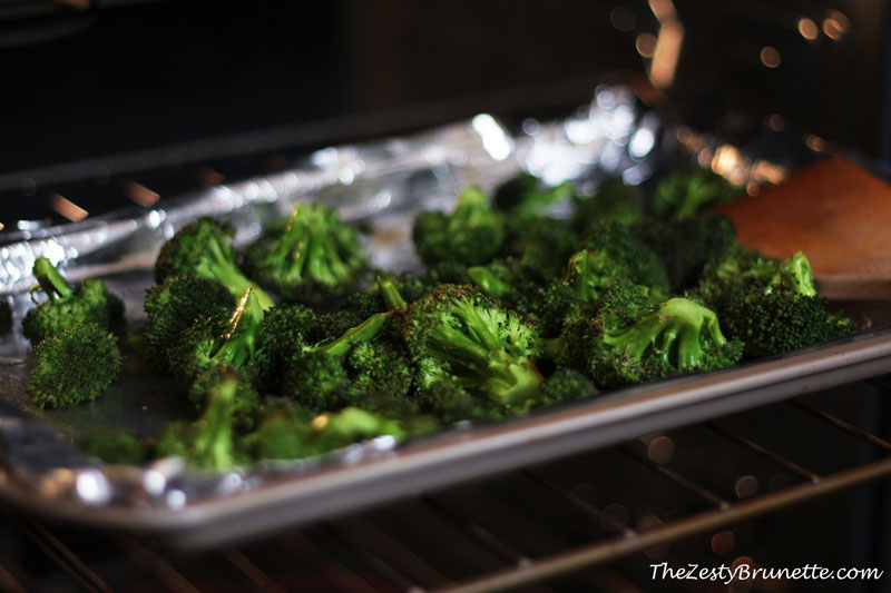 Broccoli-Roasting