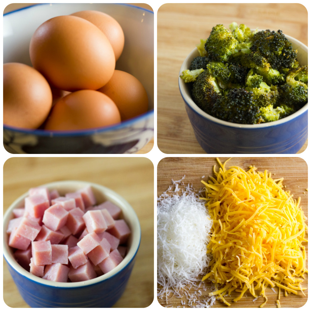 Roasted Broccoli Fritatta Ingredients