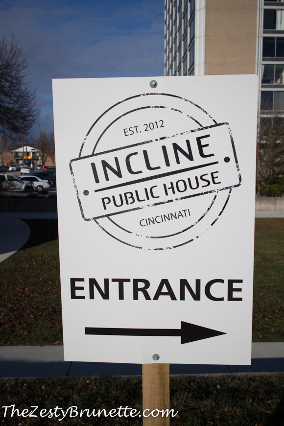 Incline Public House Sign